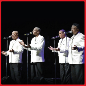 The Stylistics return to Cork Opera House in October 2021Monday 25 October 2021