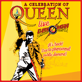 Following sold out shows in 2019 and 2020, Flash Harry - A Celebration of Queen will return in 2021.Saturday 25th September 2021