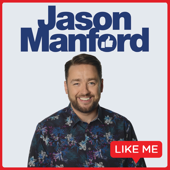 *TICKETS ON SALE ON FRIDAY 28th FEBRUARY AT 10.00Jason Manford returns to Cork with his brand new show Like Me. Friday 17th September 2021