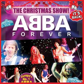 The smash hit Abba Forever returns to Cork with their special Christmas show.  Tuesday December 1 2020