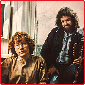 Performing their seminal self-titled 1977 album, Irish folk music's greatest duo Andy Irvine & Paul Brady, accompanied by Dónal Lunny and Kevin Burke, have rescheduled their concerts in Dublin's Vicar Street, Belfast Waterfront and Cork Opera House for October 2021. Sunday the 17th of October 2021