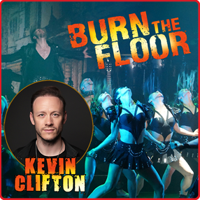 Kevin Clifton and the sensational worldwide Ballroom Dance Company BURN THE FLOOR return with a bang in 2021Monday 07th June 2021