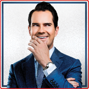 Comedian Jimmy Carr returns to Cork Opera House in 2021 as part of his 'Terribly Funny' Tour.Friday 12th & Saturday 13th November 2021 7pm & 9.30pm