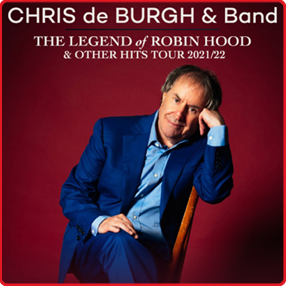 Chris de Burgh comes to Cork Opera House in October 2021 as part of his brand new tour.Wednesday 6 October 2021
