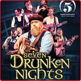 Seven Drunken Nights – The Story of The Dubliners comes to Cork as part of a fifth anniversary tour in 2022.Thursday 3 March 2022