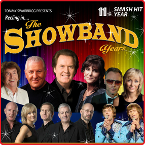 Ronan Collins and his Reeling in the Showband Years show returns to Cork for its record-breaking 12th year.  Saturday 29 & Sunday 30 January 2022