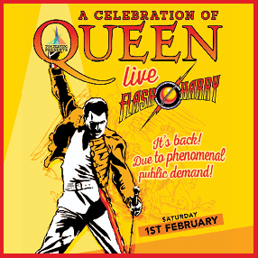 Flash Harry- A Celebration of Queen
